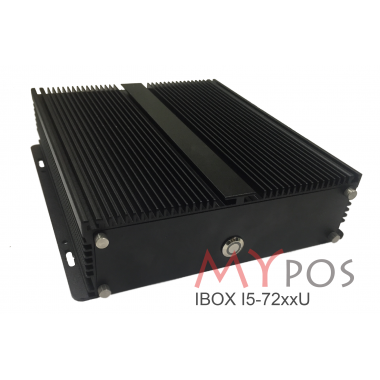 myPOS MYPOS IBOX I5-72xxU, RAM 4Gb, SSD 120GB, 6 USB, 2 COM, 1 LAN, VGA, HDMI, MINI-PCIE, без ОС